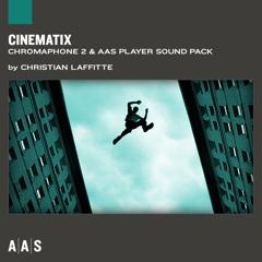 Cinematix—Christian Laffitte sound pack for Chromaphone 2