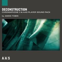 Deconstruction—Amon Tobin sound pack for Chromaphone 3