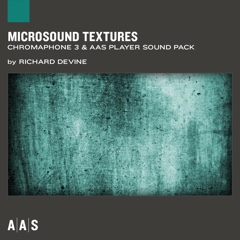 Microsound Textures—Richard Devine sound pack for Chromaphone 3