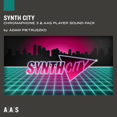 Synth City—Adam Pietruszko sound pack for Chromaphone 3