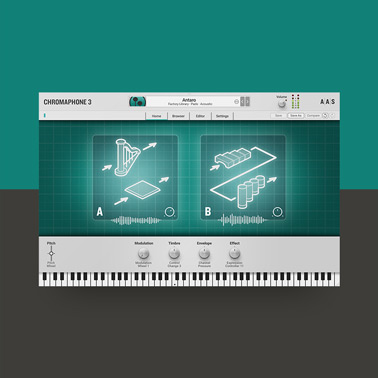 Chromaphone 3 – Acoustic Object Synthesizer