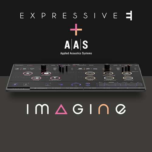 AAS proudly took part in the creation of Imagine—Expressive E's latest synthesizer. Visit www.expressivee.com for more information