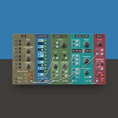 Multiphonics CV-1 – Modular Synthesizer