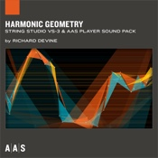 Harmonic Geometry—Richard Devine sound pack for String Studio VS-3