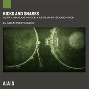 Kicks and Snares—Adam Pietruszko sound pack for Ultra Analog VA-3