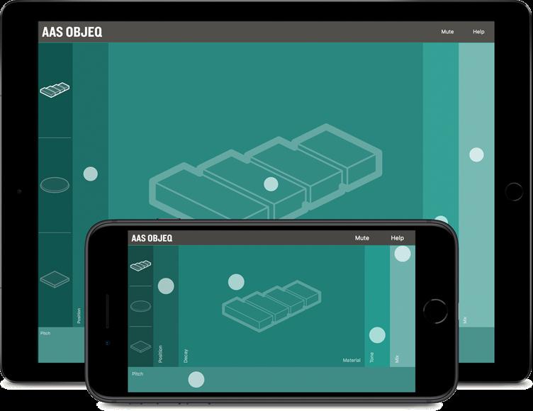 Objeq on iPad and iPhone
