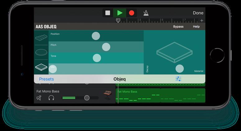 AAS Objeq iOS AUv3 (Audio Unit v3)