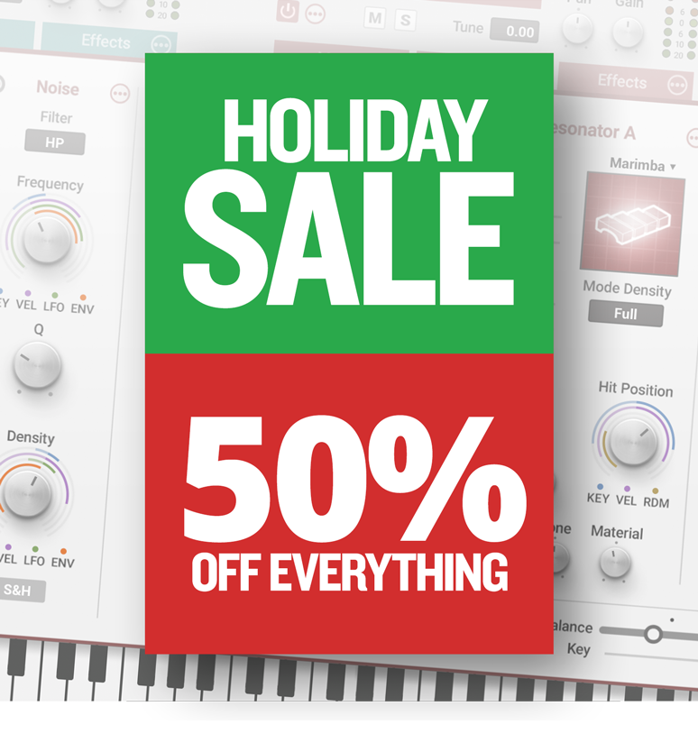 Awesome deals for the holiday season; 50% off on everything