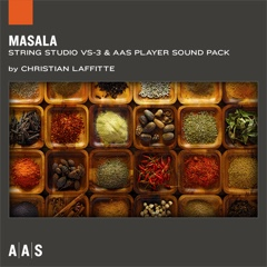 Masala—Christian Laffitte sound pack for String Studio VS-3