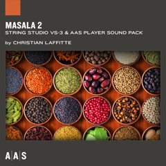 Masala 2—Christian Laffitte sound pack for String Studio VS-3