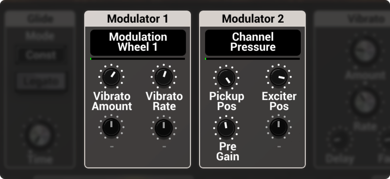 String Studio VS-3 Modulator modules
