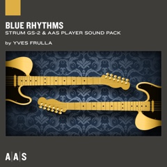 Blue Rhythms—Yves Frulla sound pack for Strum GS-2