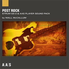 Post Rock—Niall McCallum sound pack for Strum GS-2