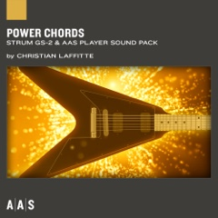 Power Chords—Christian Laffitte sound pack for Strum GS-2