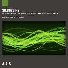 30.8676 Hz—Andre Ettema sound pack for Ultra Analog VA-3