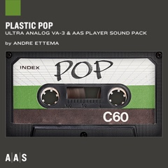 Plastic Pop—Andre Ettema sound pack for Ultra Analog VA-3