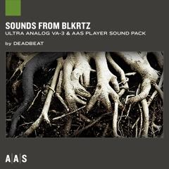 Sounds from BLKRTZ—Deadbeat sound pack for Ultra Analog VA-3